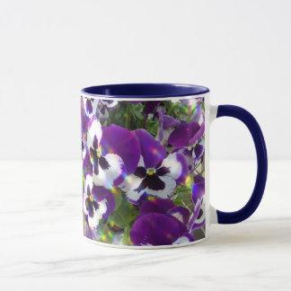 Caneca de café cerâmica do amor perfeito