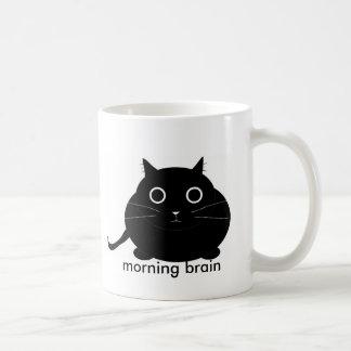 Caneca De Café Cérebro da manhã
