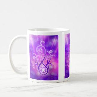 Caneca De Café Chama violeta/fogo violeta