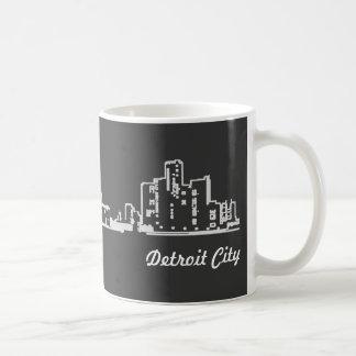 Caneca De Café Cidade de Detroit