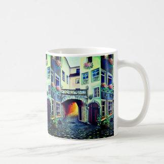 Caneca De Café Cidade do bohemian de Dreamscape Luxembourg