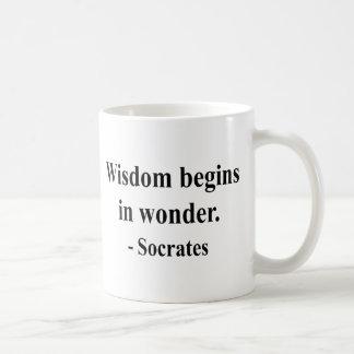 Caneca De Café Citações 1a de Socrates