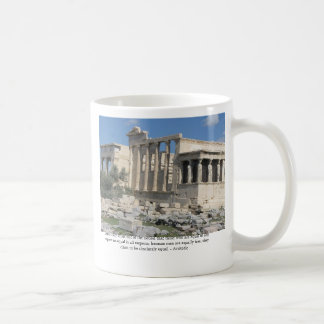 Caneca De Café Citações de Aristotle sobre a democracia com