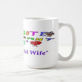 Caneca De Café Citações grávidas minha esposa bonita