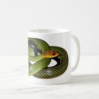 Caneca De Café Cobra de rato verde de Bush