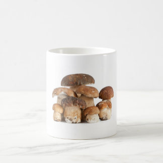 Caneca De Café cogumelos
