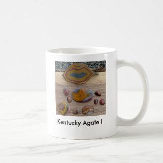 Caneca De Café coleção, ágata de Kentucky!