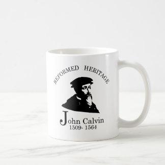 Caneca De Café Coleção reformada João Calvino da herança