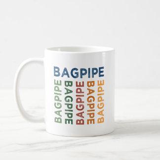 Caneca De Café Colorido bonito do Bagpipe