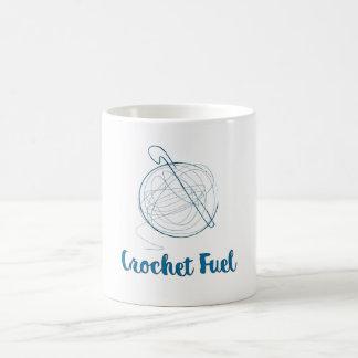 Caneca De Café Combustível do Crochet