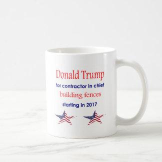Caneca De Café Contratante no chefe, presidente de Donald Trump