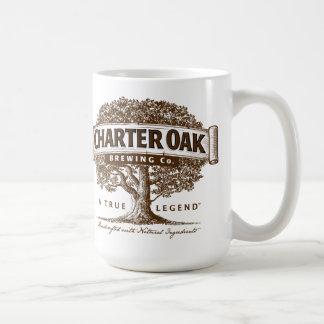 Caneca De Café Copo de café da cervejaria do carvalho da carta