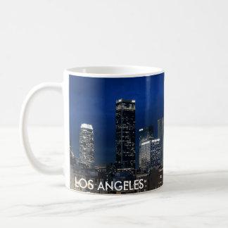 Caneca De Café Copo de café da skyline de Los Angeles
