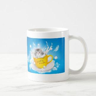 Caneca De Café Copo de café do gatinho