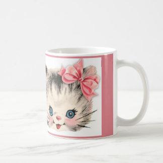 Caneca De Café Copo de café do gato do gatinho