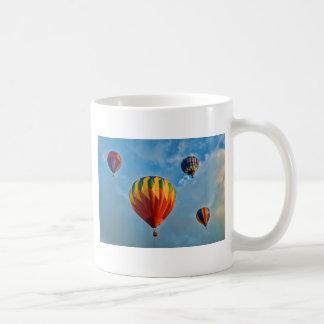 Caneca De Café Copo de café dos balões de ar quente