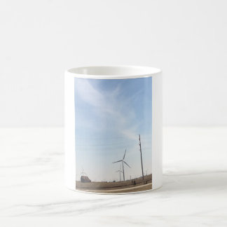 Caneca De Café Copo do moinho de vento