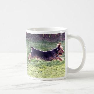 Caneca De Café Corredor do yorkshire terrier