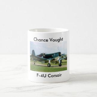 Caneca De Café Corsário de Vought F-4U da possibilidade