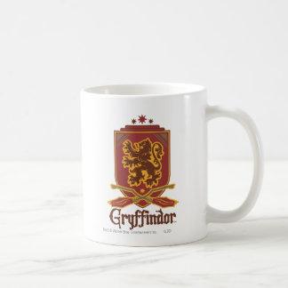 Caneca De Café Crachá de Harry Potter   Gryffindor QUIDDITCH™
