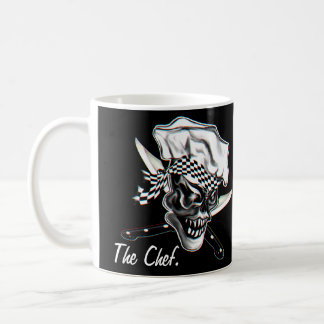 Caneca De Café Crânio 5 do cozinheiro chefe