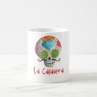 Caneca De Café Crânio de Diâmetro de Los Muertos Açúcar com