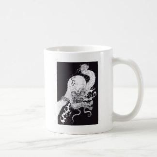 Caneca De Café Crânio do horror