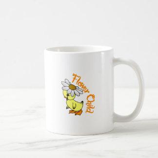Caneca De Café Criança de flor