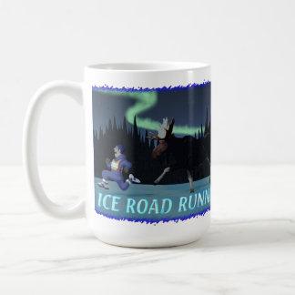 Caneca De Café Cuco terrestre australiano do gelo