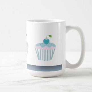 Caneca De Café Cupcakes do mirtilo