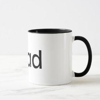 caneca de café da campainha do iDad