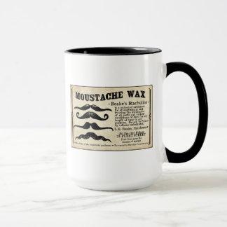Caneca de café da cera do Moustache de Mustach