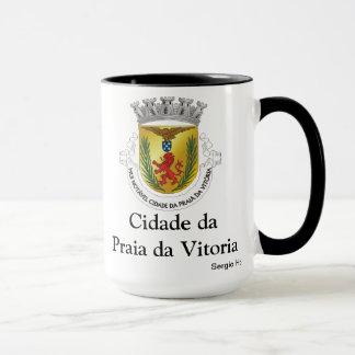 Caneca de café da Dinamarca Vitoria do Praia