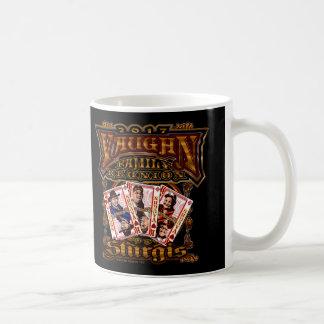Caneca de café da reunião de Vaughn da família