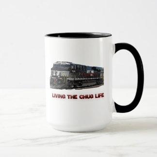 Caneca de café da vida do Chug do NS