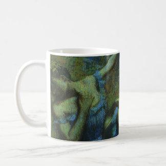 Caneca De Café Dançarinos azuis por Edgar Degas, impressionismo