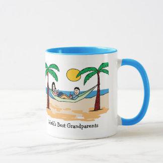 Caneca de café das avós do mundo a melhor