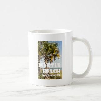 Caneca De Café ` das férias da palmeira de Myrtle Beach South