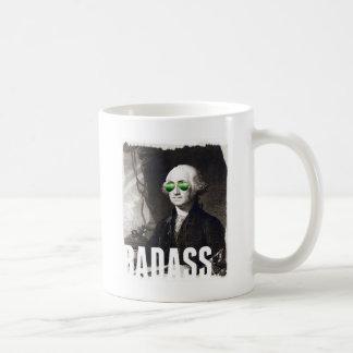 Caneca de café de Badass Georges Washington