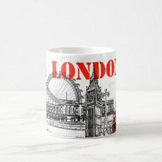 caneca de café de Londres