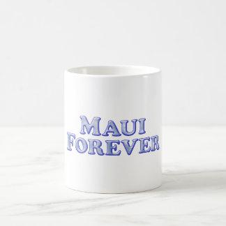 Caneca De Café De Maui básico chanfrado para sempre -
