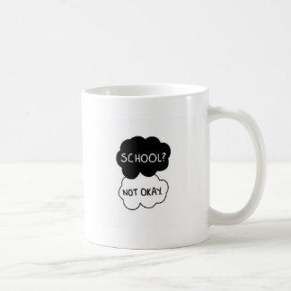 Caneca De Café de volta à escola