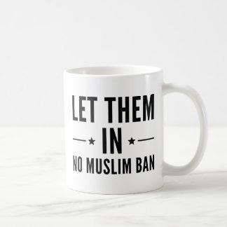 Caneca De Café Deixe-os dentro