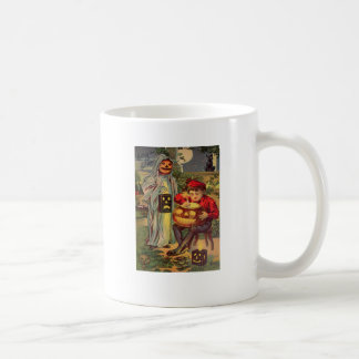 Caneca De Café Deleite de R do truque (cartão do Dia das Bruxas