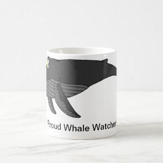 Caneca De Café Desenhos animados da baleia de Humpback