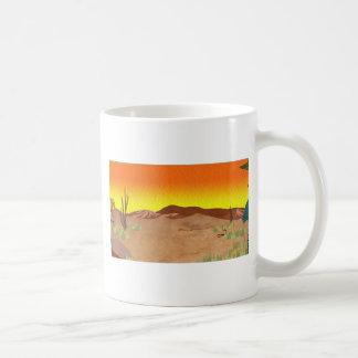 Caneca De Café Deserto de Kalahari