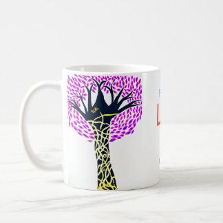 Caneca De Café Design da árvore da arte cura por Ashi Sharma