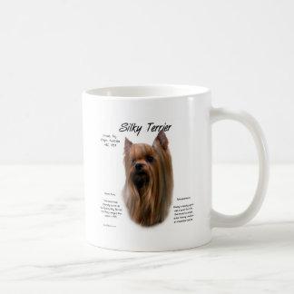 Caneca De Café Design da história de Terrier de seda