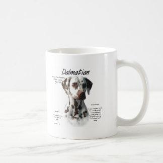 Caneca De Café Design Dalmatian da história (do fígado)