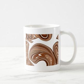 Caneca De Café Design de cobre corajoso do efeito da pedra da